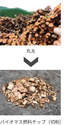 バイオマス燃料チップ(切削)
