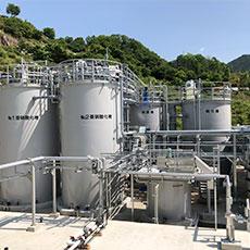バイオガス発電施設