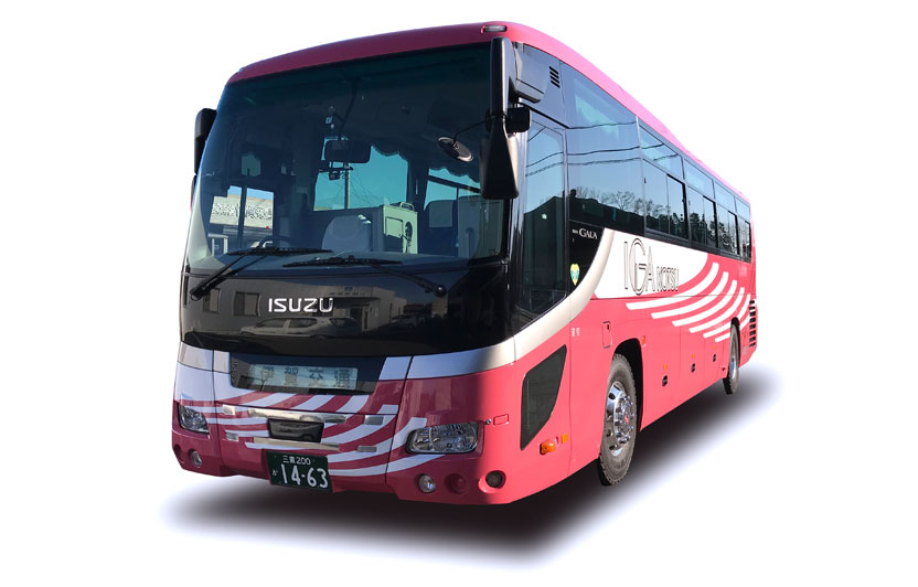 大型観光バス サロンタイプ